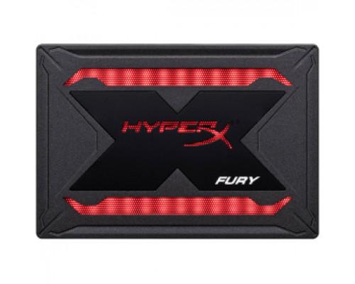Твердотельный накопитель 240Gb SSD Kingston HyperX Fury RGB (SHFR200/240G)