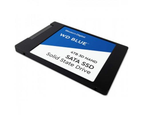 Твердотельный накопитель 4Tb SSD Western Digital Blue (WDS400T2B0A)