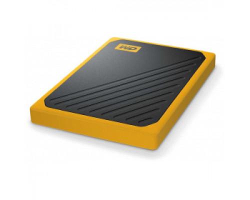 Твердотельный накопитель 1Tb SSD Western Digital My Passport Go Yellow (WDBMCG0010BYT)