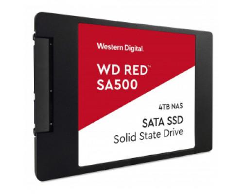 Твердотельный накопитель 4Tb SSD Western Digital Red SA500 (WDS400T1R0A)