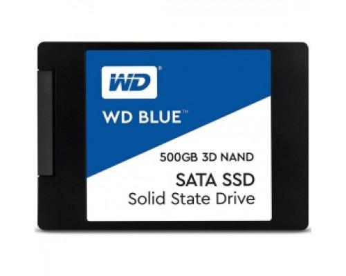 Твердотельный накопитель 500Gb SSD Western Digital Blue (WDS500G2B0A)