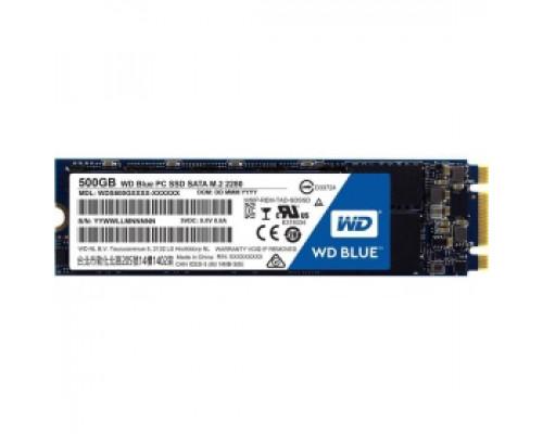 Твердотельный накопитель 500Gb SSD Western Digital Blue (WDS500G2B0B)