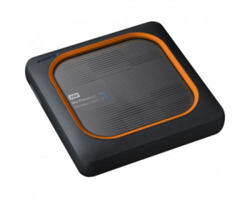 Твердотельный накопитель 500Gb SSD Western Digital My Passport Wireless (WDBAMJ5000AGY)