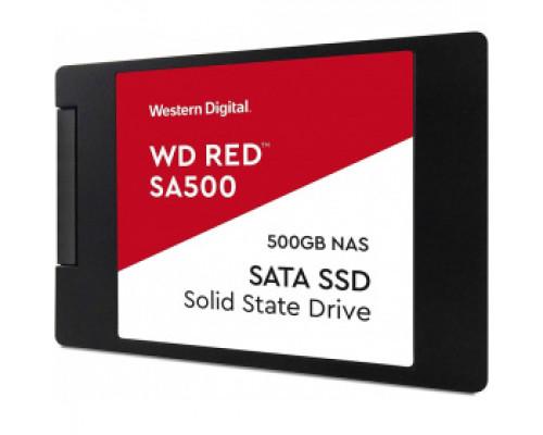 Твердотельный накопитель 500Gb SSD Western Digital Red (WDS500G1R0A)