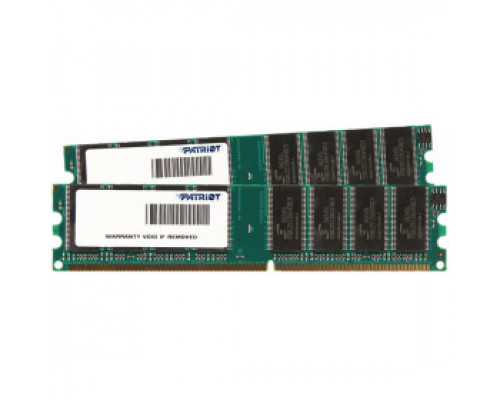 Оперативная память 4Gb DDR-II 800MHz Patriot (PSD24G800K) (2x2Gb KIT)