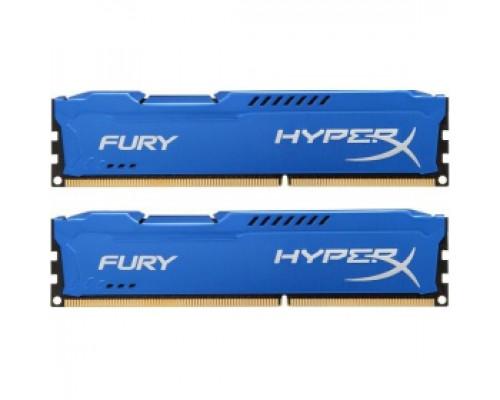 Оперативная память 16Gb DDR-III 1333MHz Kingston HyperX Fury (HX313C9FK2/16) (2x8Gb KIT)