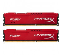Оперативная память 16Gb DDR-III 1333MHz Kingston HyperX Fury (HX313C9FRK2/16) (2x8Gb KIT)