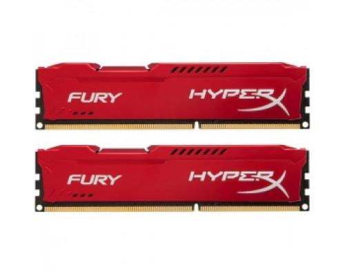 Оперативная память 16Gb DDR-III 1333MHz Kingston HyperX Fury (HX313C9FRK2/16) (2x8Gb KIT)