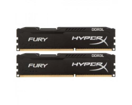 Оперативная память 16Gb DDR-III 1600MHz Kingston HyperX Fury (HX316LC10FBK2/16) (2x8Gb KIT)