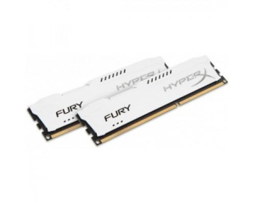 Оперативная память 16Gb DDR-III 1600MHz Kingston HyperX Fury White (HX316C10FWK2/16) (2x8Gb KIT)