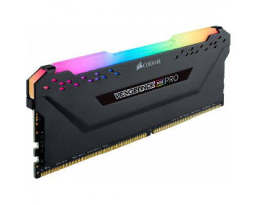 Оперативная память 16Gb DDR4 3200MHz Corsair Vengeance RGB Pro (CM4X16GC3200C16W4) OEM