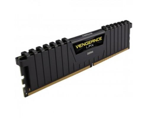 Оперативная память 16Gb DDR4 2400MHz Corsair Vengeance LPX (CMK16GX4M1A2400C14)