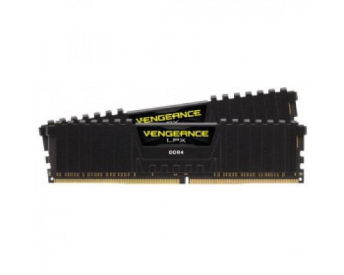 Оперативная память 16Gb DDR4 2400MHz Corsair Vengeance LPX (CMK16GX4M2A2400C14) (2x8Gb KIT)