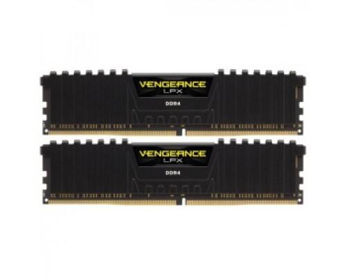 Оперативная память 16Gb DDR4 2666MHz Corsair Vengeance LPX (CMK16GX4M2Z2666C16) (2x8Gb KIT)