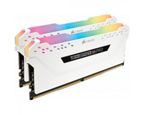Оперативная память 16Gb DDR4 3000MHz Corsair Vengeance RGB PRO (CMW16GX4M2C3000C15W) (2x8Gb KIT)