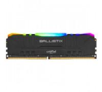 Оперативная память 8Gb DDR4 3600MHz Crucial Ballistix RGB (BL8G36C16U4BL)