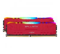Оперативная память 32Gb DDR4 3000MHz Crucial Ballistix Red (BL2K16G30C15U4RL) (2x16Gb KIT)
