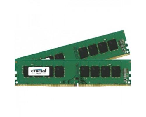 Оперативная память 16Gb DDR4 2400MHz Crucial (CT2K8G4DFS824A) (2x8Gb KIT)