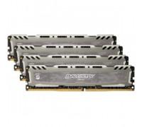 Оперативная память 16Gb DDR4 2400MHz Crucial Ballistix Sport LT Gray (BLS4K4G4D240FSB) (4x4Gb KIT)