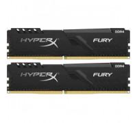 Оперативная память 16Gb 2400MHz DDR4 Kingston HyperX Fury (HX424C15FB3K2/16) (2x8Gb KIT)