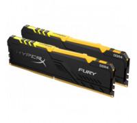 Оперативная память 16Gb DDR4 2400MHz Kingston HyperX Fury (HX424C15FB3AK2/16) (2x8Gb KIT)