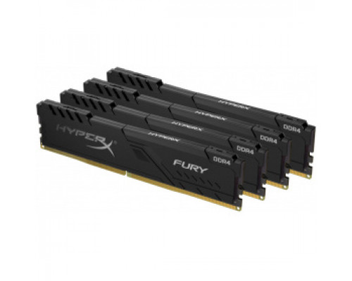 Оперативная память 16Gb DDR4 3000MHz Kingston HyperX Fury (HX430C15FB3K4/16) (4x4Gb KIT)