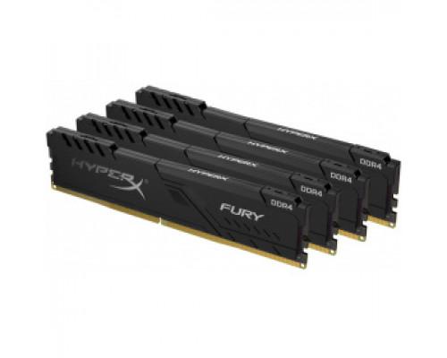 Оперативная память 16Gb DDR4 3200MHz Kingston HyperX Fury (HX432C16FB3K4/16) (4x4Gb KIT)
