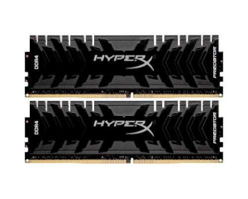 Оперативная память 16Gb DDR4 3333MHz Kingston HyperX Predator (HX433C16PB3K2/16) (2x8Gb KIT)
