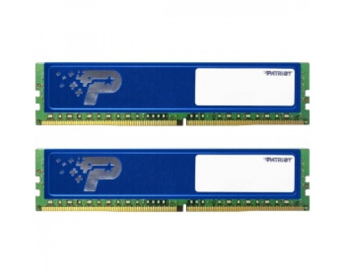 Оперативная память 16Gb DDR4 2400MHz Patriot (PSD416G2400KH) (2x8Gb KIT)