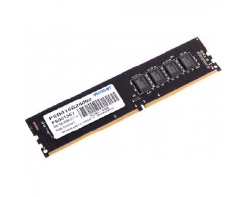 Оперативная память 16Gb DDR4 2400MHz Patriot Signature (PSD416G24002)