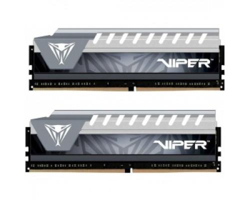 Оперативная память 16Gb DDR4 2666MHz Patriot Viper Elite (PVE416G266C6KGY) (2x8Gb KIT)