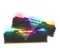 Оперативная память 16Gb DDR4 2666MHz Patriot Viper RGB (PVR416G266C5K) (2x8Gb KIT)