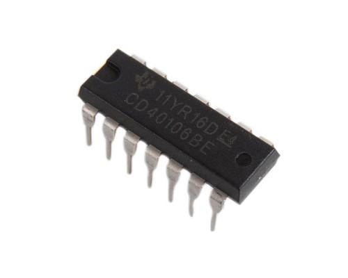 40106BE микросхема Texas Instruments DIP-14