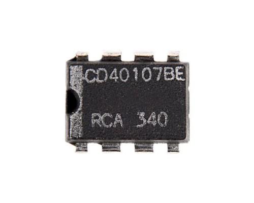 40107BE микросхема Texas Instruments DIP-8