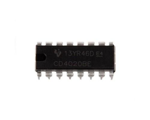 4020BE микросхема Texas Instruments DIP-16