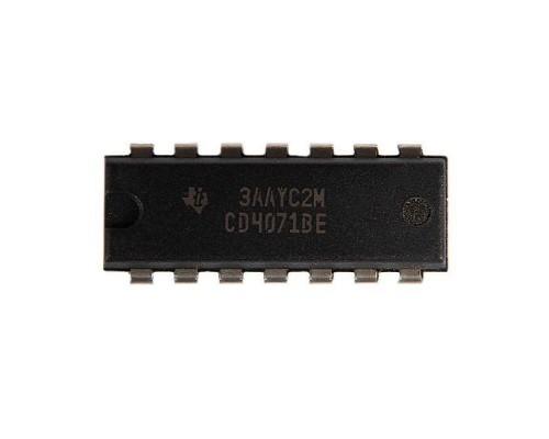 4071BE микросхема Texas Instruments DIP-14