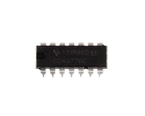 4077BE микросхема Texas Instruments DIP-14