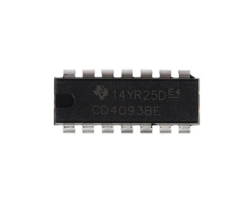 4093BE микросхема Texas Instruments DIP-14
