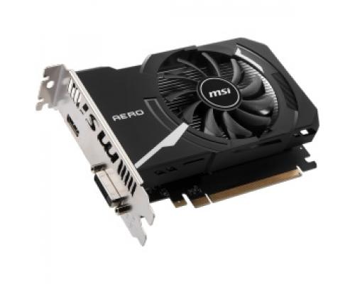 Видеокарта nVidia GeForce GT1030 MSI PCI-E 2048Mb (GT 1030 AERO ITX 2GD4 OC)