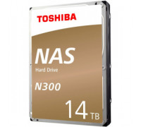 Жесткий диск 14Tb SATA-III Toshiba N300 NAS (HDWG21EUZSVA) OEM