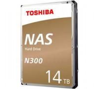 Жесткий диск 14Tb SATA-III Toshiba N300 NAS (HDWG21EEZSTA)