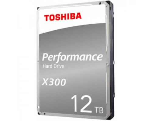 Жесткий диск 12Tb SATA-III Toshiba X300 Performance (HDWR21CUZSVA) OEM