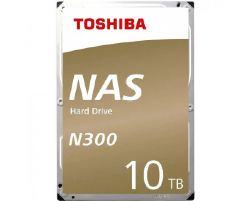 Жесткий диск 10Tb SATA-III Toshiba N300 (HDWG11AEZSTA) RTL