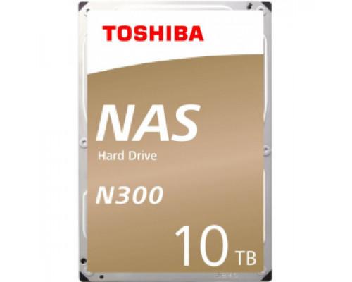 Жесткий диск 10Tb SATA-III Toshiba N300 NAS (HDWG11AUZSVA) OEM