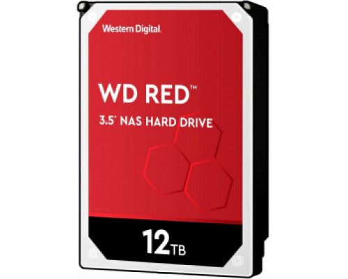 Жёсткий диск 12Tb SATA-III Western Digital Red (WD120EFAX)