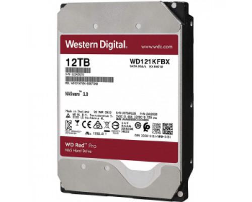 Жёсткий диск 12Tb SATA-III Western Digital Red Pro (WD121KFBX)