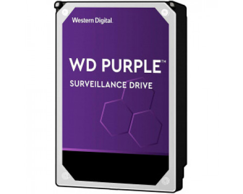 Жёсткий диск 10Tb SATA-III Western Digital Purple (WD102PURZ)