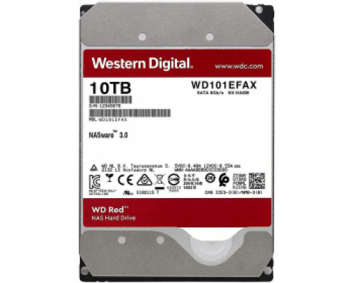 Жёсткий диск 10Tb SATA-III Western Digital Red (WD101EFAX)