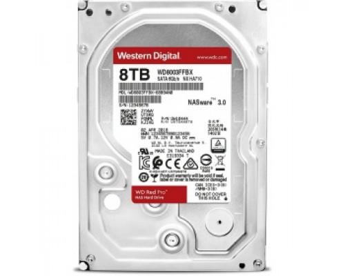 Жёсткий диск 8Tb SATA-III Western Digital Red Pro (WD8003FFBX)